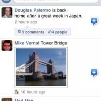 Facebook: Statusnachrichten