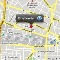 Post mobil: Briefkasten in den Maps