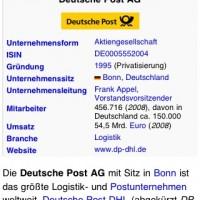 Wikipanion: Anzeige eines Logos