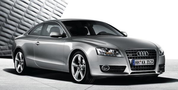 Audi A5 Coupé: Frontansicht