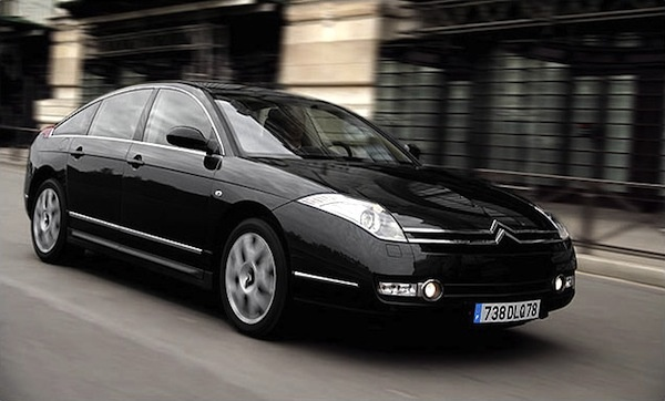 Citroën C6: Frontansicht