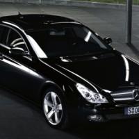 Mercedes CLS: schräg vorne
