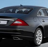Mercedes CLS: Heck