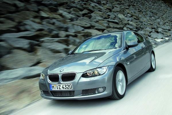 BMW 3er Coupé: Frontansicht
