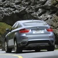 BMW X6: Heck