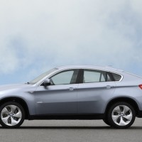 BMW X6: Silhouette