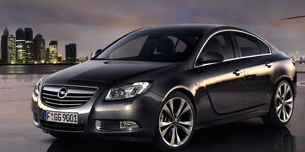 Opel Insignia: Frontansicht