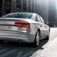 Audi A8 - Heck